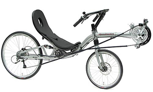 Two Wheeled Recumbent Cycles